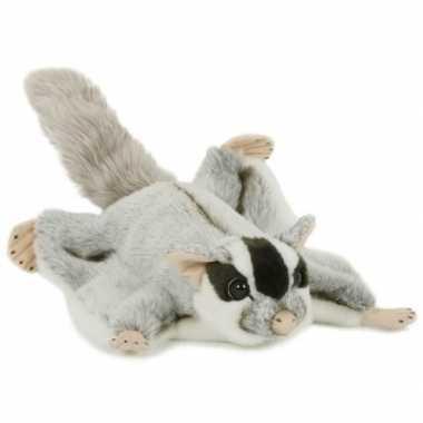 Groothandel pluche speelgoed vliegende eekhoorn knuffeldier 28 cm kop