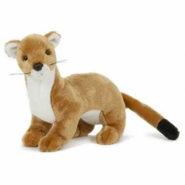 Groothandel pluche speelgoed wezel knuffeldier 23 cm