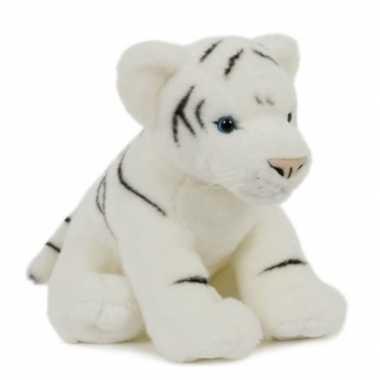 Groothandel pluche speelgoed witte tijger knuffeldier 30 cm kopen