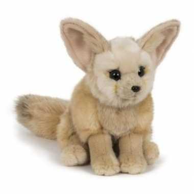 Groothandel pluche speelgoed woestijn vos knuffeldier 23 cm