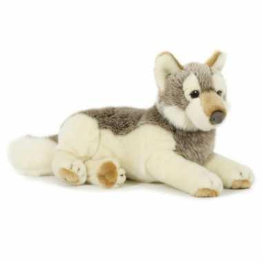 Groothandel pluche speelgoed wolf knuffeldier 30 cm kopen