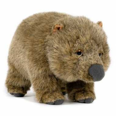 Groothandel pluche speelgoed wombat knuffeldier 25 cm
