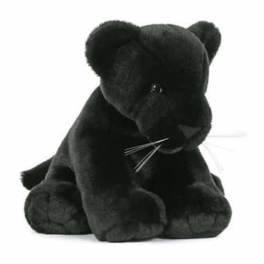 Groothandel pluche speelgoed zwarte panter knuffeldier 30 cm
