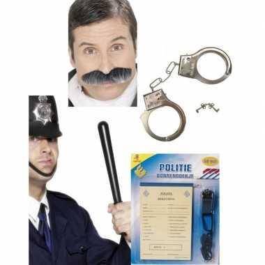 Groothandel politie verkleed accessoires pakket speelgoed kopen
