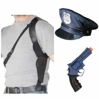 Groothandel politie verkleed accessoires voor dames en heren speelgoe