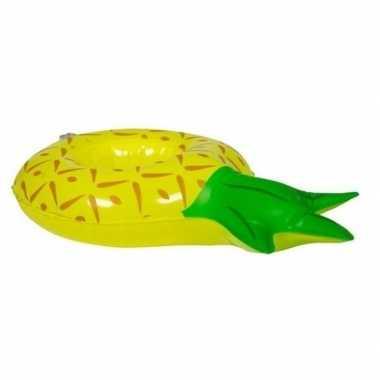 Groothandel poppen/knuffels zwembanden ananas 27 cm speelgoed kopen