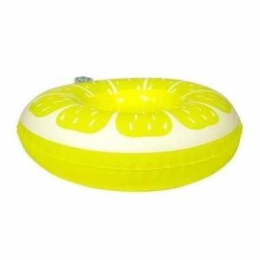 Groothandel poppen/knuffels zwembanden citroen 19 cm speelgoed kopen