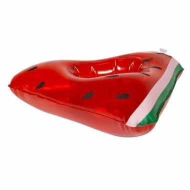 Groothandel poppen/knuffels zwembanden watermeloen 19 cm speelgoed ko