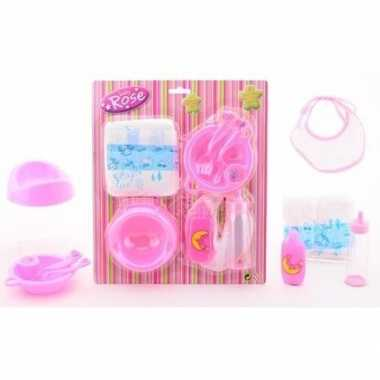 Groothandel poppen speelgoed pakket 8 delig kopen