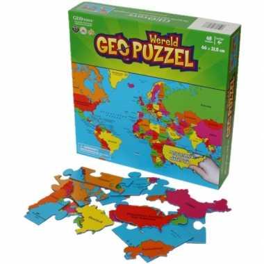 Groothandel puzzel van de aarde 68 stukjes speelgoed
