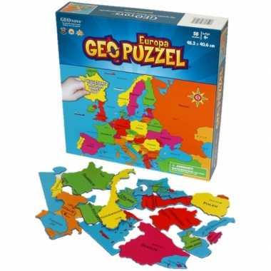 Groothandel puzzel van europa 58 stukjes speelgoed