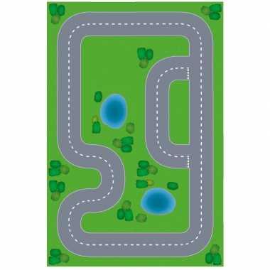 Groothandel race circuit diy speelgoed stratenplan/ kartonnen speelkl