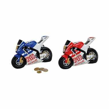 Groothandel race motoren spaarpot rood speelgoed kopen