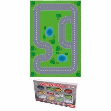 Groothandel racecircuit diy speelgoed stratenplan/ kartonnen speelkle