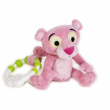 Groothandel rammelaar pink panter 17 cm speelgoed