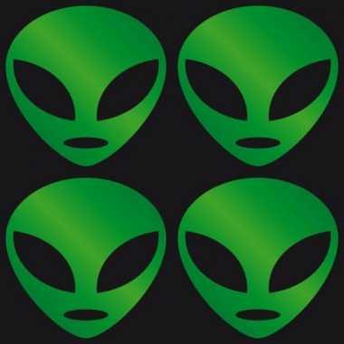 Groothandel reflectie stickers groen alien speelgoed kopen