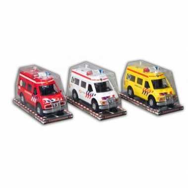 Groothandel rode brandweer auto 26 cm speelgoed