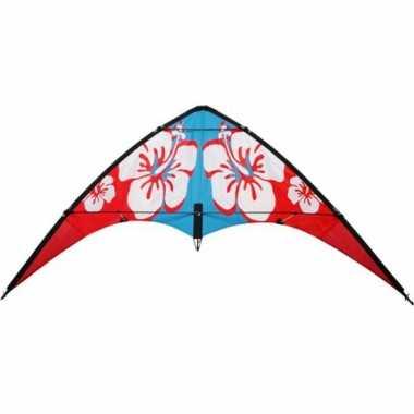 Groothandel rode hibiscus stuntvlieger 115 x 50 speelgoed kopen