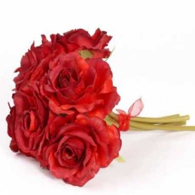 Groothandel rode rozen boeket 6 stuks speelgoed kopen