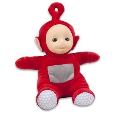 Groothandel rode teletubbie pop po 26 cm speelgoed kopen