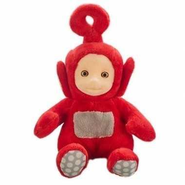 Groothandel rode teletubbie pratende pop po 20 cm speelgoed kopen
