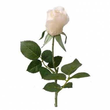 Groothandel roos wit 35 cm kunstbloemen speelgoed kopen