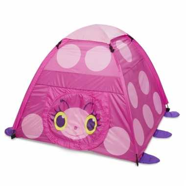 Groothandel roze lieveheersbeestje speeltent 150 cm speelgoed kopen
