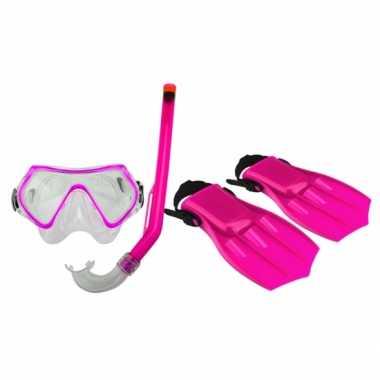 Groothandel roze snorkelset voor kinderen speelgoed kopen