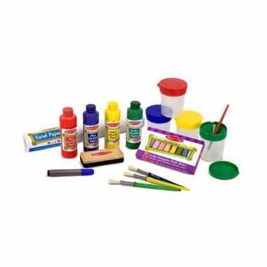 Groothandel schildersezel accessoires 29 stuks speelgoed kopen