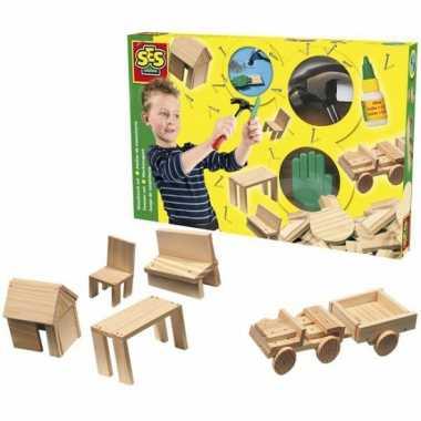 Groothandel ses timmerman set speelgoed