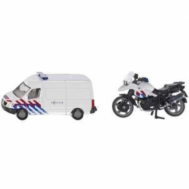 Groothandel siku 1655 speelgoedauto/modelauto nederlandse politie/red