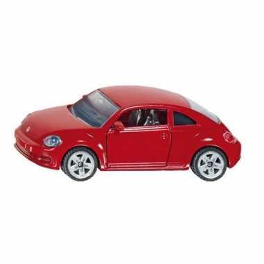 Groothandel  Siku Volkswagen Beetle rood modelauto 1417 speelgoed kop