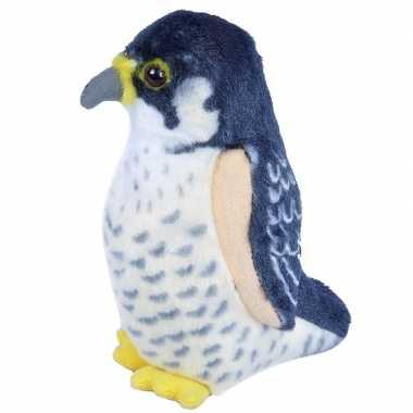 Groothandel slechtvalk vogeltje met geluid van pluche 13 cm speelgoed kopen