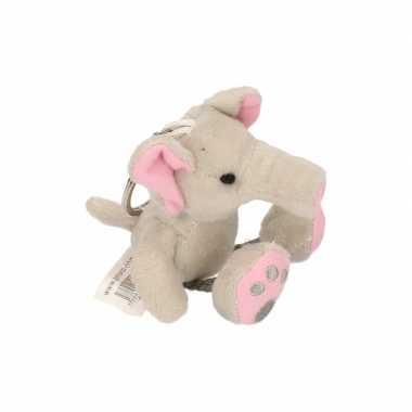 Groothandel sleutelhanger olifantje 10 cm speelgoed