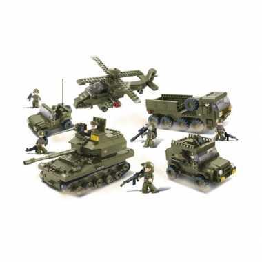 Groothandel sluban bouwstenen legerset speelgoed kopen