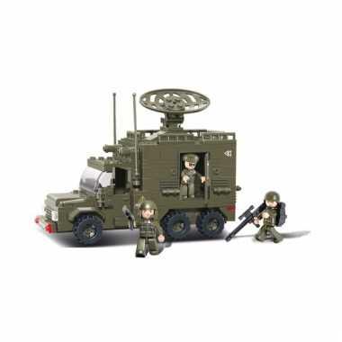 Groothandel sluban bouwstenen radarvoertuig speelgoed kopen