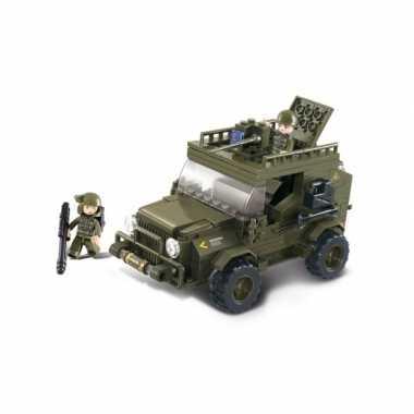 Groothandel sluban bouwstenen terreinwagen speelgoed kopen