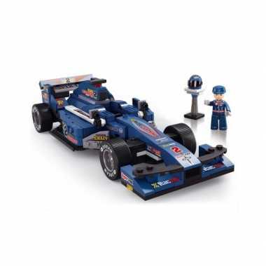 Groothandel Sluban Race Auto Blauw Speelgoed Kopen Groothandel