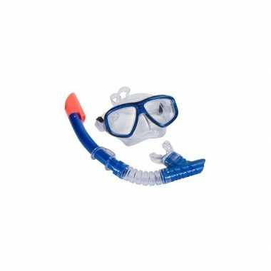 Groothandel snorkel set blauw voor volwassenen speelgoed kopen