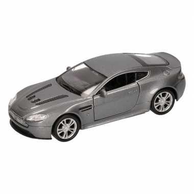 Groothandel speelgoed aston martin vantage grijs welly autootje 1:36