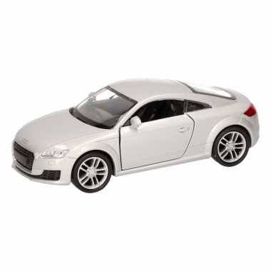 Groothandel speelgoed audi 2014 tt coupe grijs autootje 12 cm kopen
