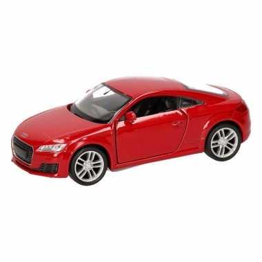 Groothandel speelgoed audi 2014 tt coupe rood autootje 12 cm kopen