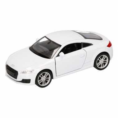 Groothandel speelgoed audi 2014 tt coupe wit autootje 12 cm kopen