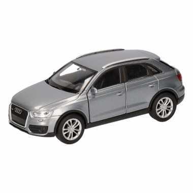 Groothandel speelgoed audi q3 grijs autootje 12 cm kopen