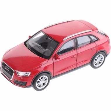 Groothandel speelgoed audi q3 rood autootje 12 cm kopen