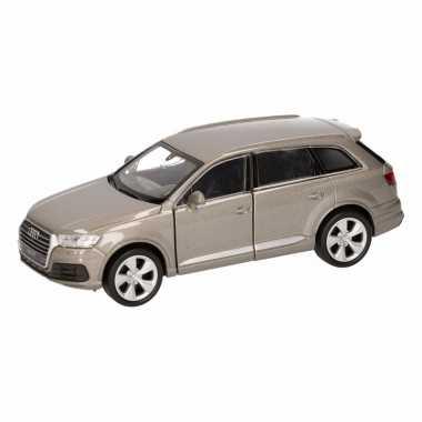 Groothandel speelgoed audi q7 grijs autootje 12 cm kopen