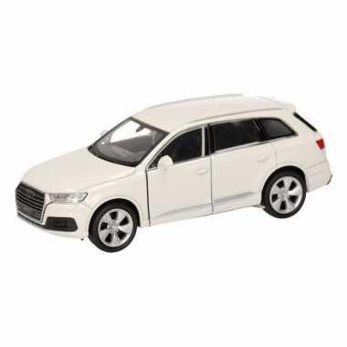 Groothandel speelgoed audi q7 wit autootje 12 cm kopen