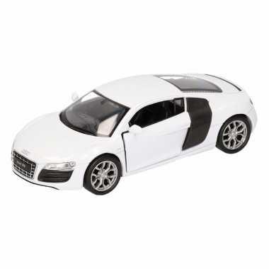Groothandel speelgoed audi r8 wit welly autootje 11,5 cm kopen