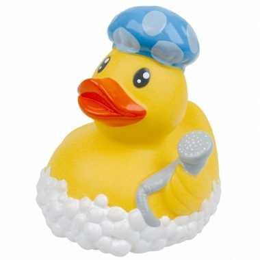 Groothandel speelgoed badeend douchemuts 8 cm kopen