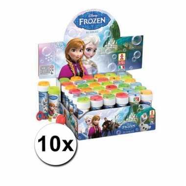 Groothandel speelgoed bellenblaas frozen 10x